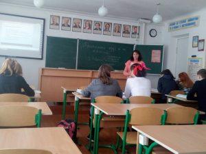 Відкритий урок – обмін педагогічним досвідом
