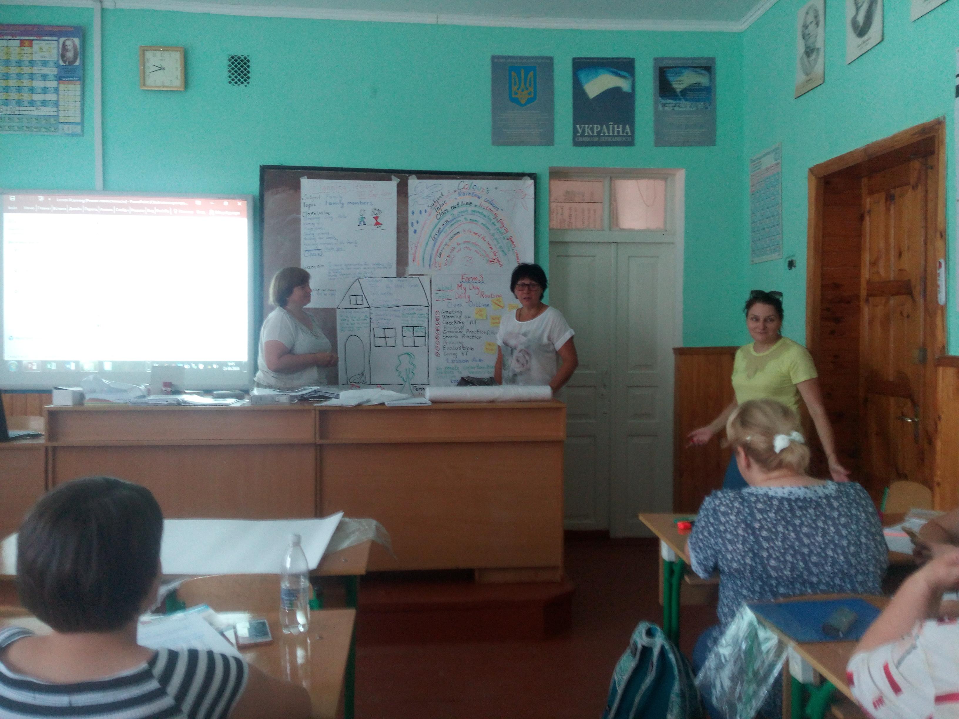 Тренінгові навчання вчителів англійської мови