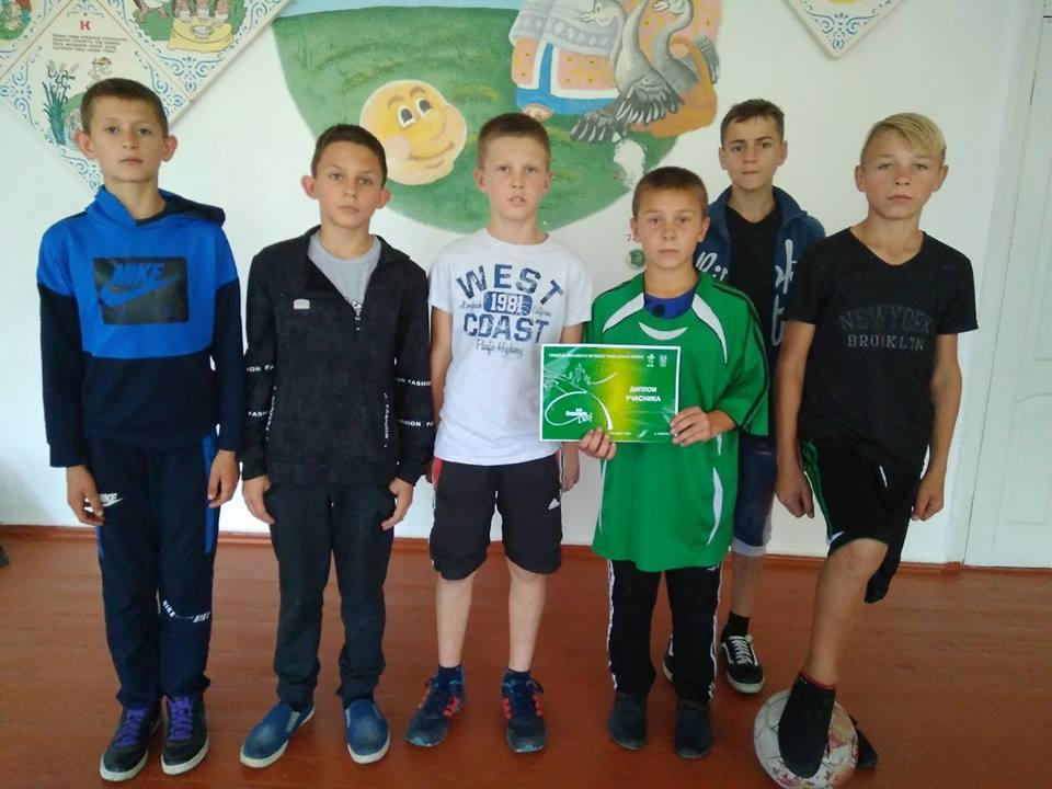 Футбольна команда гімназії