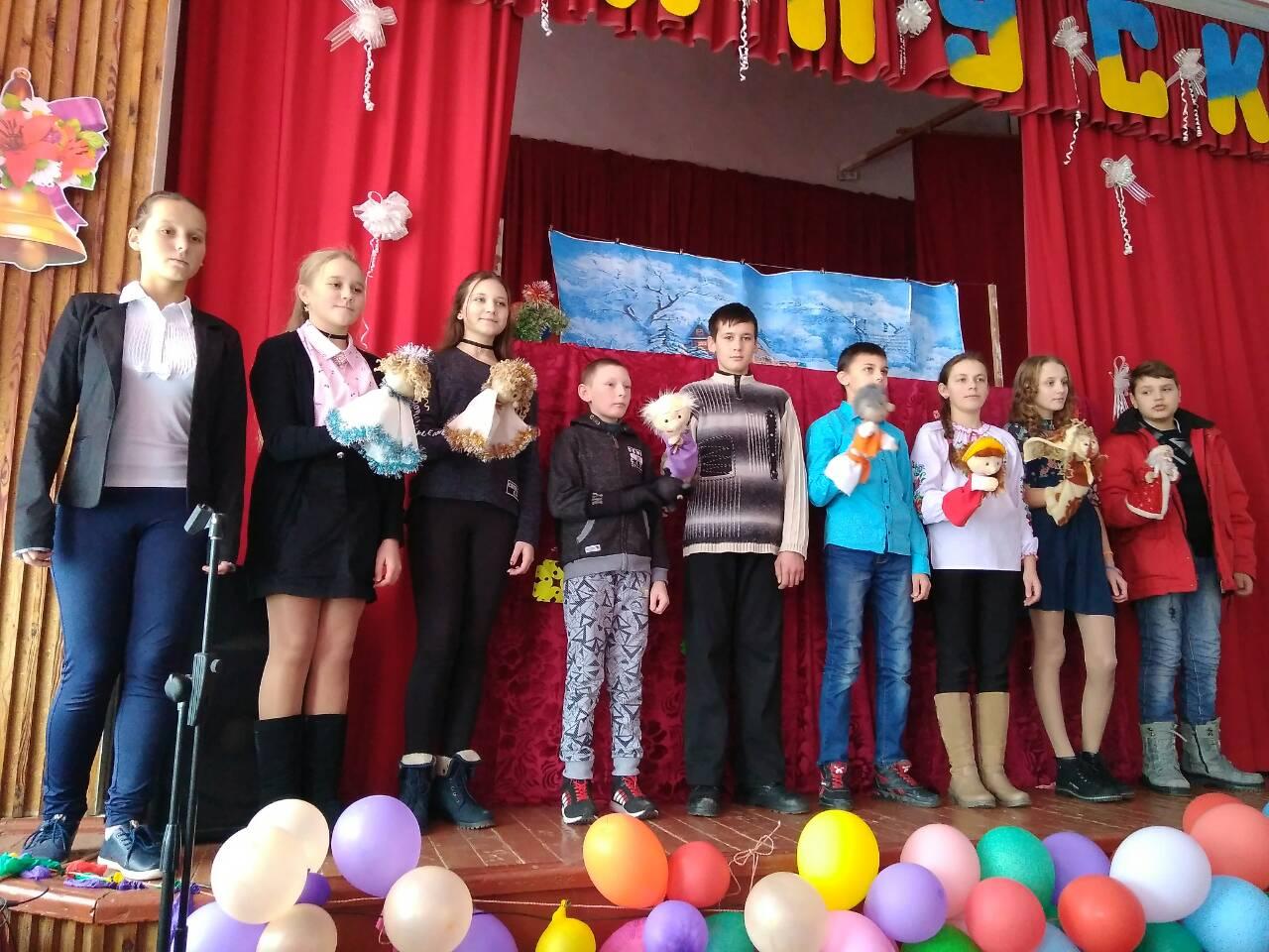 Святий Миколай відвідав учнів гімназії