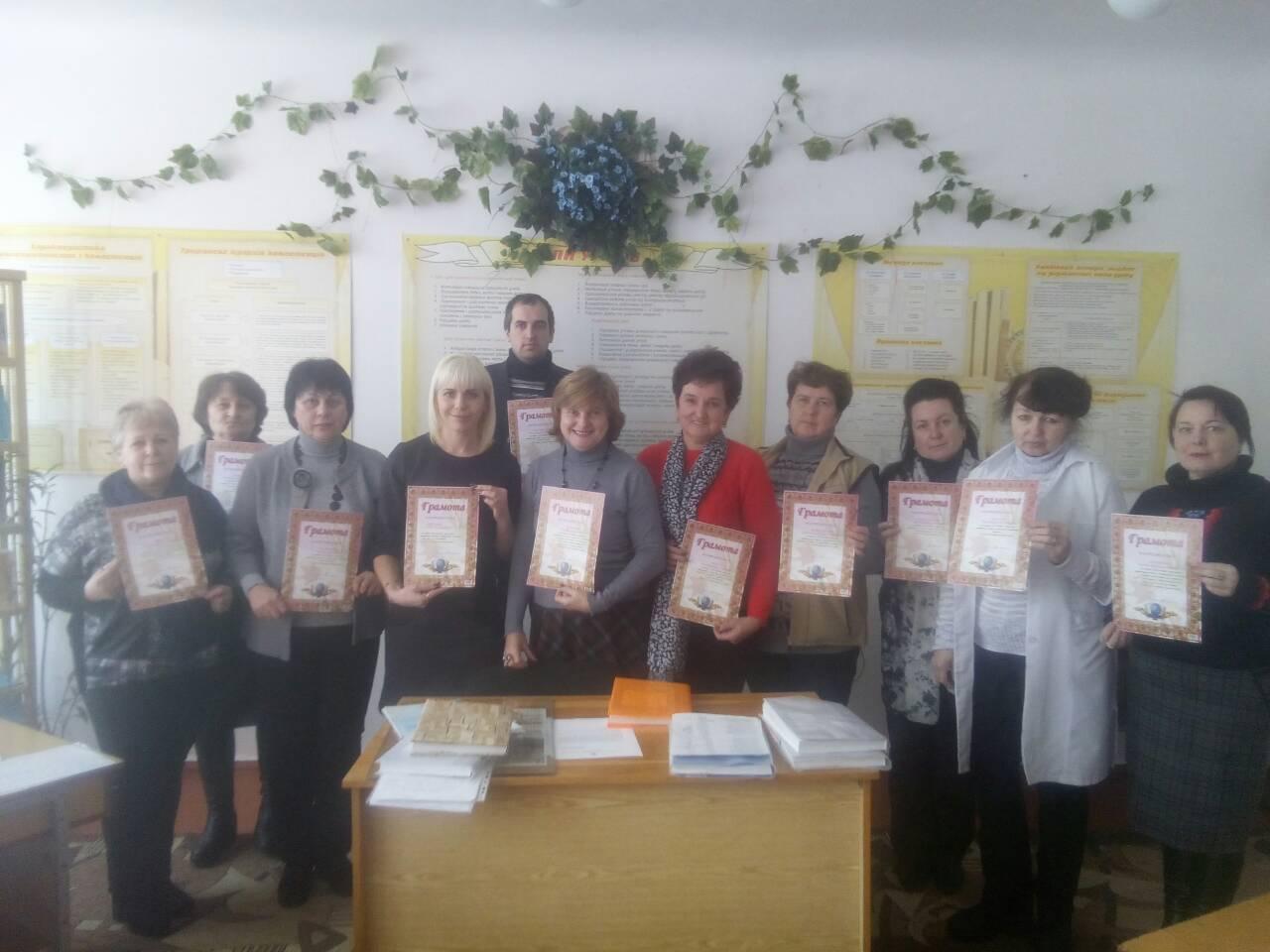 Результати плідної співпраці учнів та вчителів