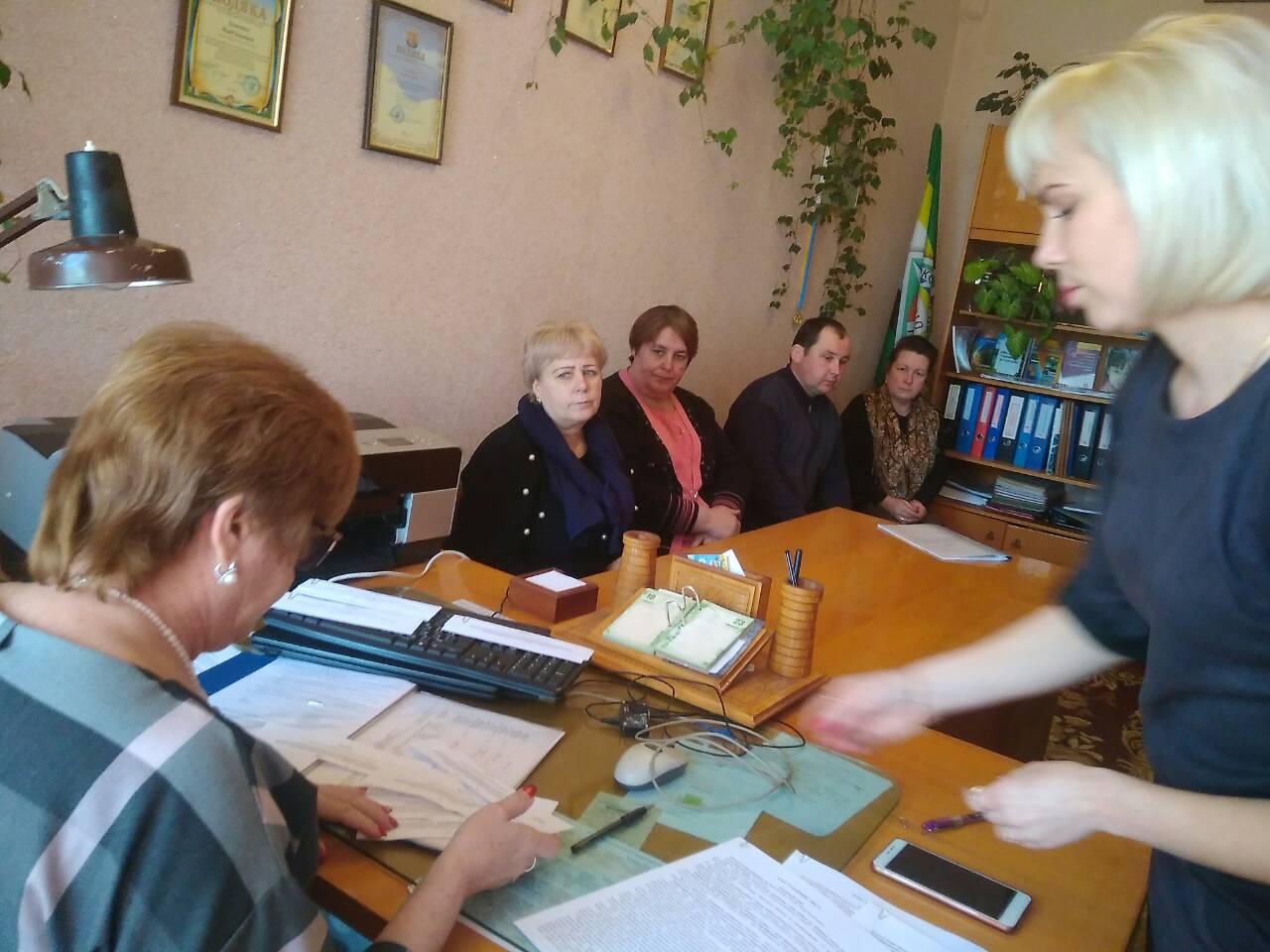 Засідання атестаційної комісії гімназії