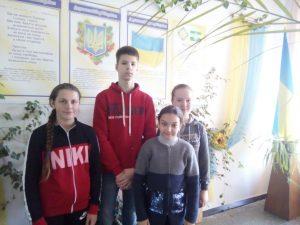 Вітаємо наших знавців української мови!