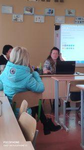 Спільне засідання методичних об'єднань вчителів гімназії