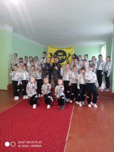 """Бажаємо успіхів нашій команді """"SK DANCE"""" на міжнародному конкурсі у Львові!"""