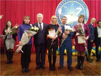 Колектив Старокотельнянської гімназії вітає Циганок Галину Василівну, яка стала фіналістом обласного етапу конкурсу «Вчитель року – 2018».
